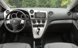 Интерьер Toyota Matrix