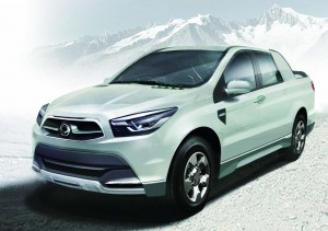Ssangyong Actyon SUT 1 Concept 4 спереди
