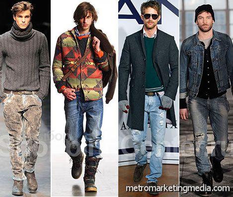 Модная тенденция в мужской одежде