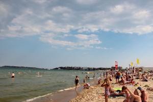 Пляж Cacao Beach на Sunny Beach